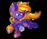 Tamatoa pony