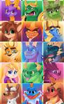 Spyro icons