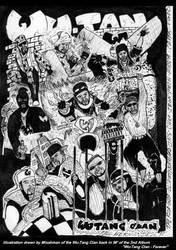 Wu-Tang Clan Poster by Mixahman