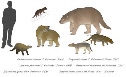 Before the ungulates - Pantodonts 1