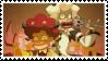 Jactance and Tendynite Stamp by WishingStarInAJar