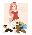 Happy Birthday, FlowersIMH