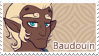AU: Baudouin the Eliatrope Dragon Stamp by WishingStarInAJar