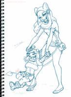 Sketch: Eliatrope Swing by WishingStarInAJar
