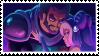 Stamp: Blue Bumper Crackship by WishingStarInAJar