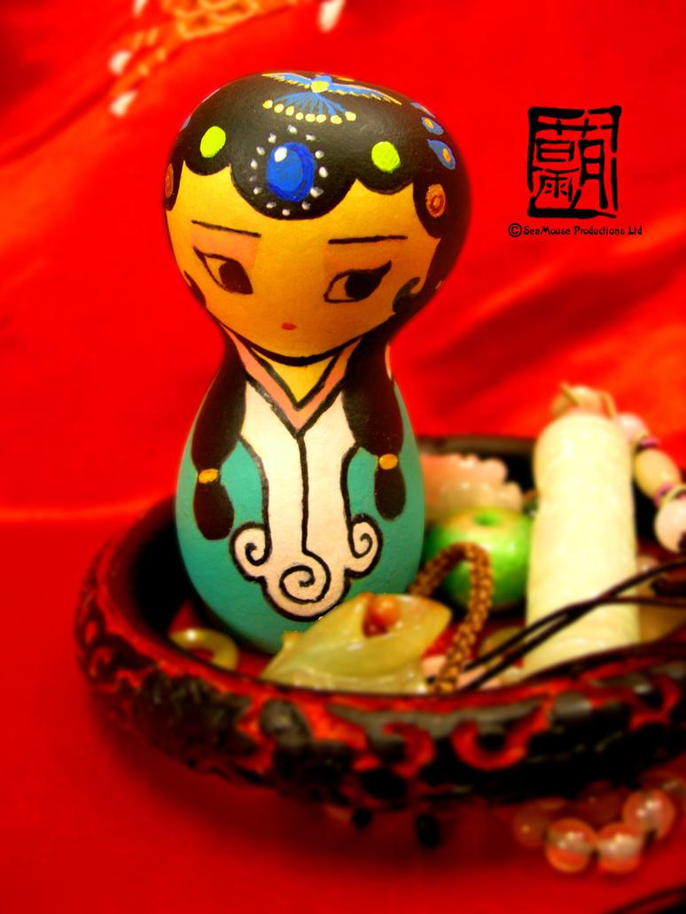 Opera singer (Gourd No. 1) by watermelon-riceball