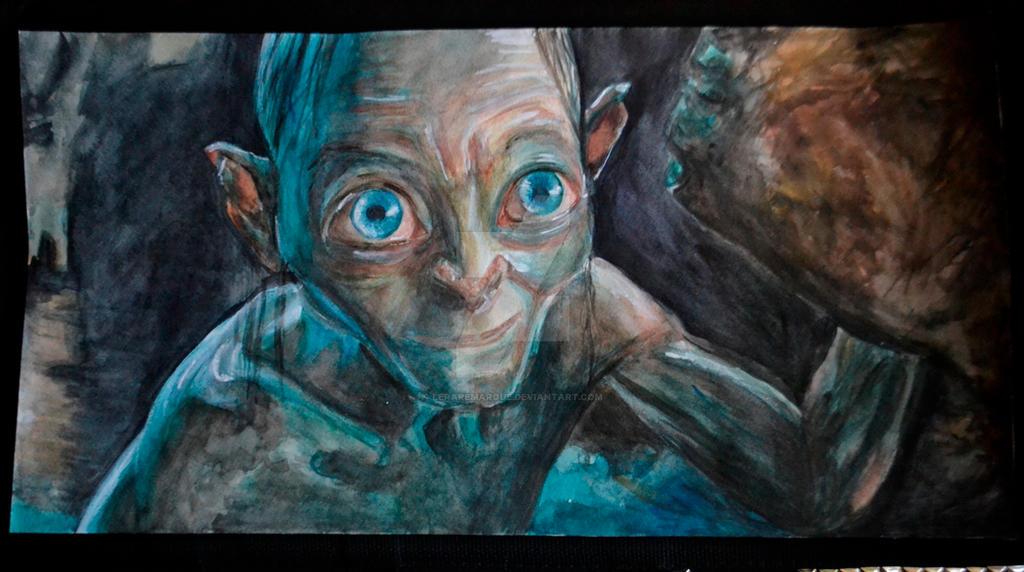 Gollum by LeraRemarque