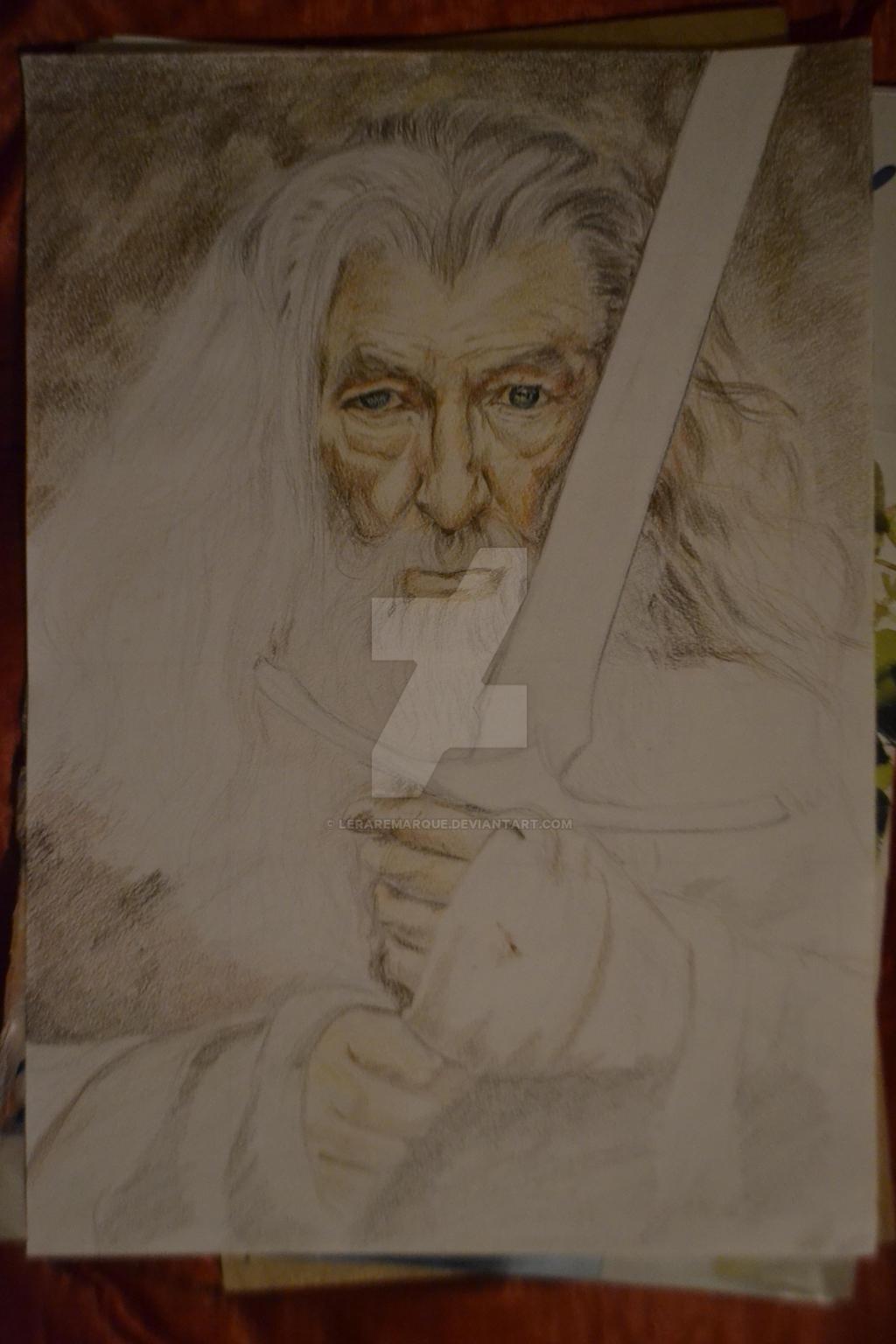 Gandalf  (in process) by LeraRemarque