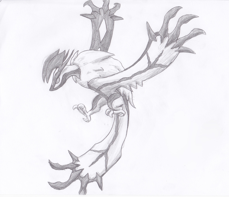 How To Draw Pokemon Yveltal