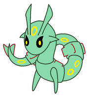Rayquaza Best Chibi by Crystalitar