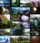 Felvargs Backgrounds
