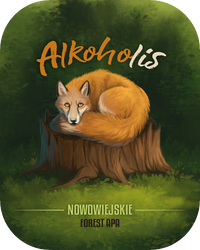 Alkoholis - Beer Label