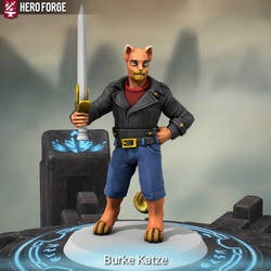 Burke Katze (Hero Forge)