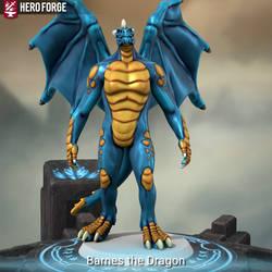 Barnes the Dragon (Hero Forge)