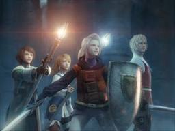 Arec,Refia,Ingus and Luneth. by Cloud-Strife-FF-VII
