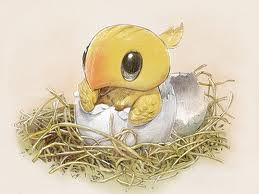 Baby Chocobo by Cloud-Strife-FF-VII