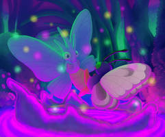 Butterfly Dance by bluedemon00