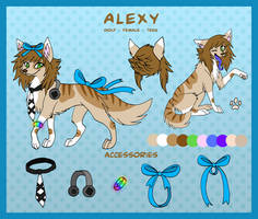Alexy Reference by LazyPerfectionistCat