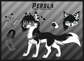 Perola Reference by LazyPerfectionistCat