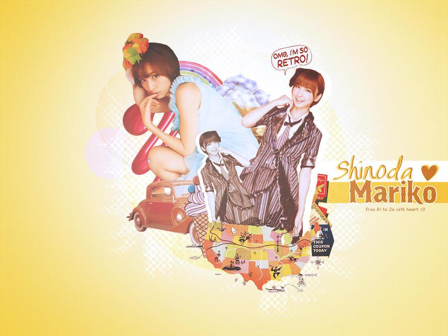 5. AKB48's Shinoda Mariko by B-Weenie
