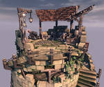 Tower on UDK