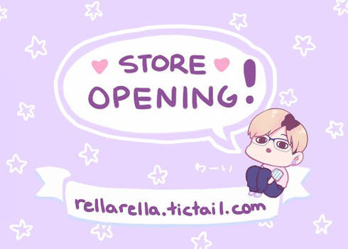 My first store!
