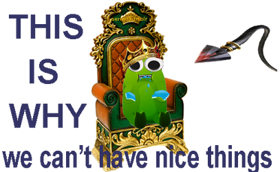 King Tumblrbeast Animated PNG by SerinaDruid