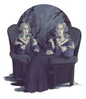 Twins by efercussie