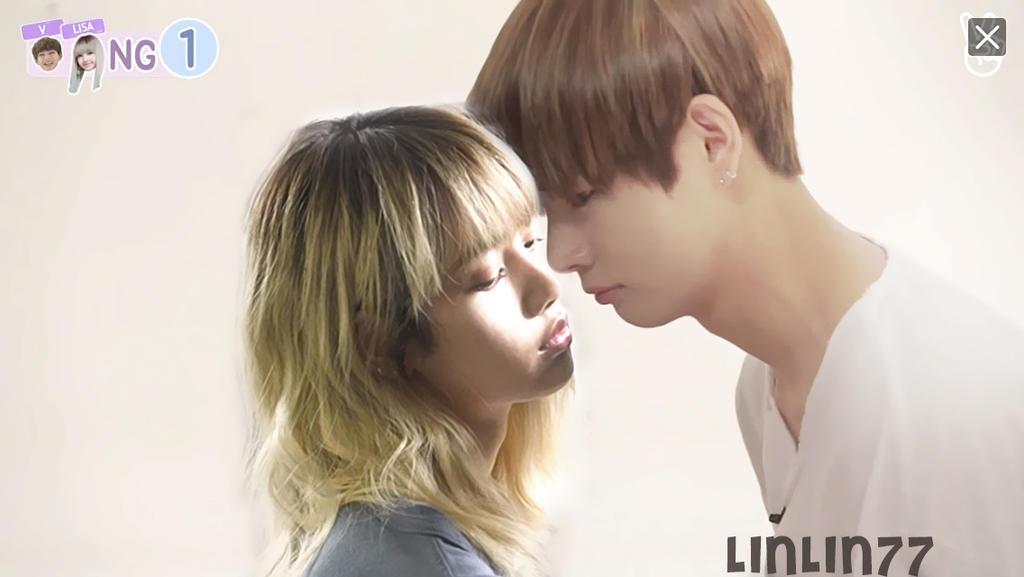 Taehyung Bts X Lisa Blackpink Taelice By Linlin77 On Deviantart