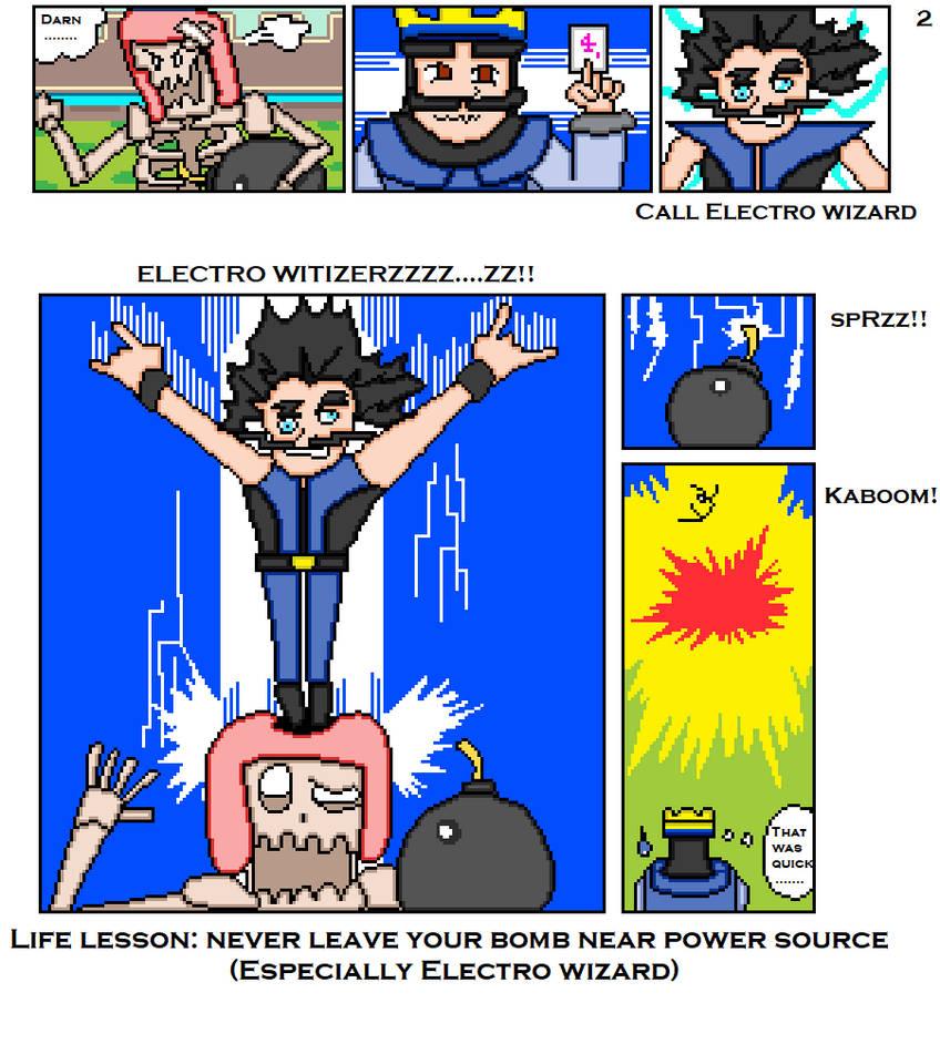 Clash royale pixel art comic page 2 by VNCCP on DeviantArt