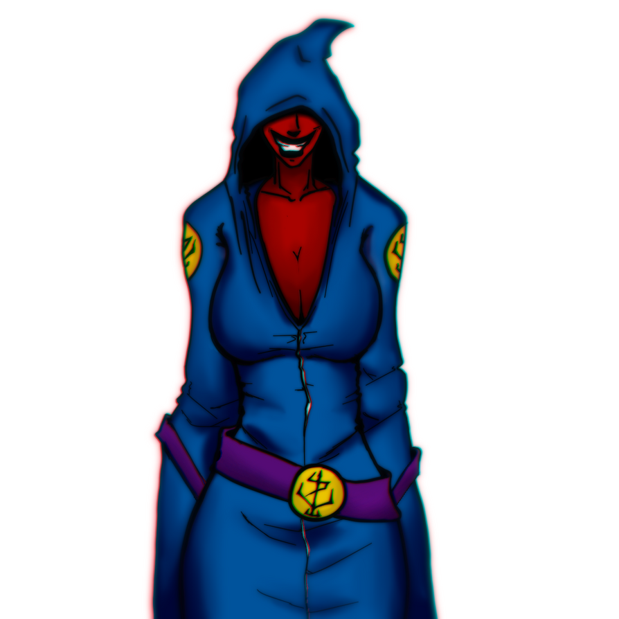 Hooded Demon Lady by Anicus999