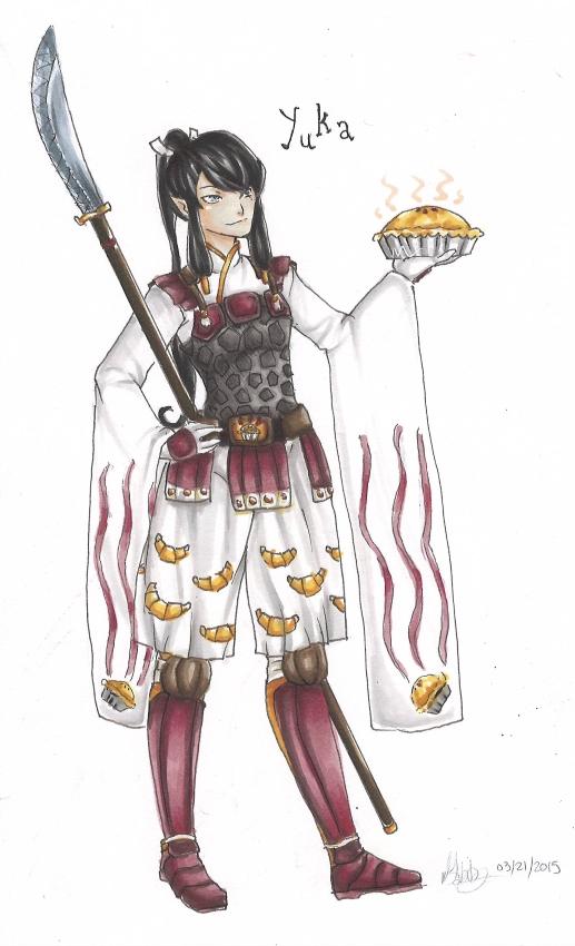 Pathfinder chara: Yuka by Gabbycon