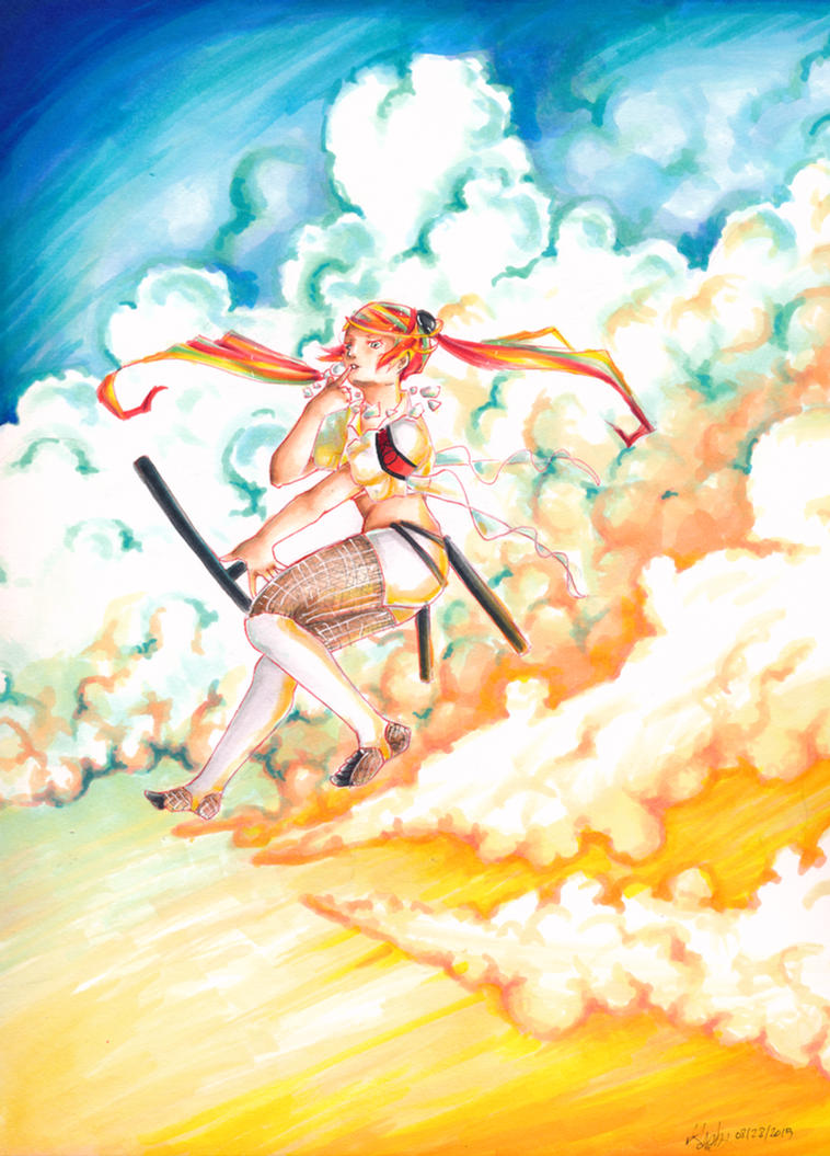 Cloud dance by Gabbycon