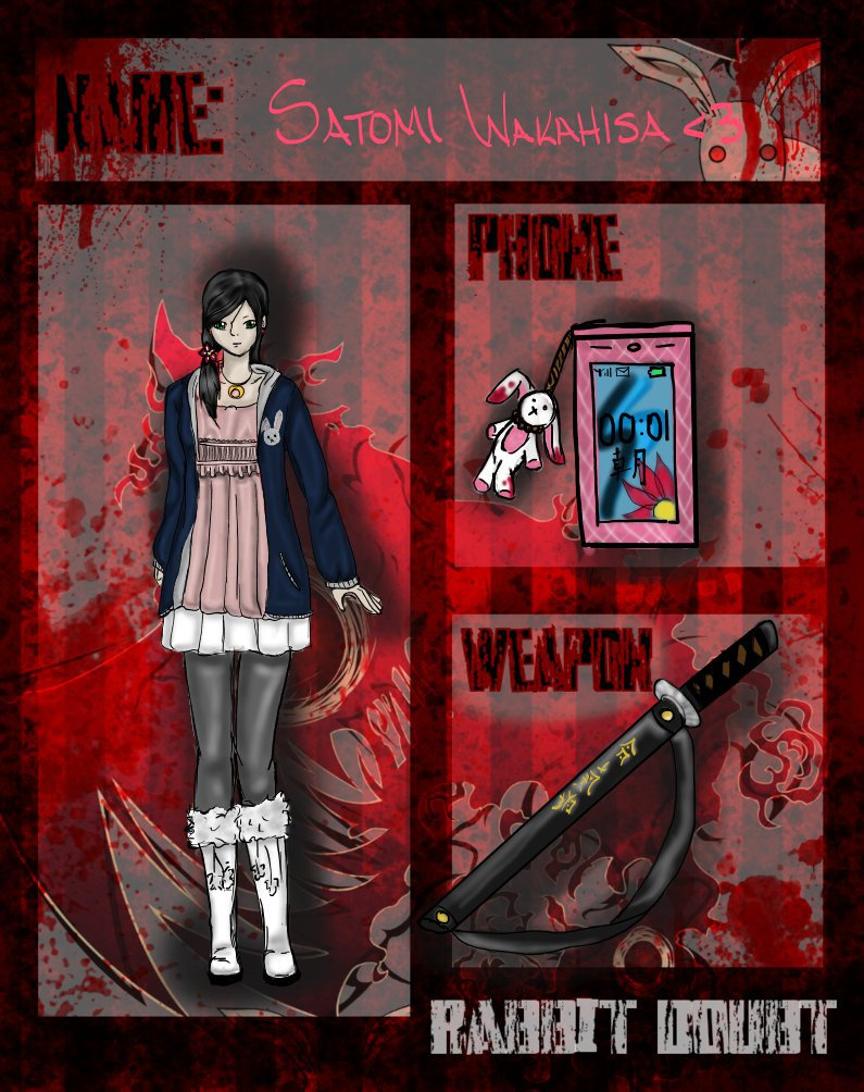Rabbit Doubt App: Satomi Wakahisa by 110animegirl