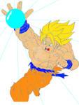 Goku Energy Blast