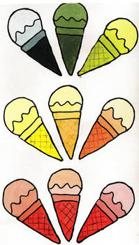 More Ice Cream Cones