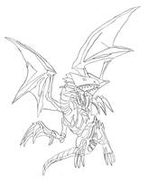 Blue Eyes White Dragon by Disturbed-Minded