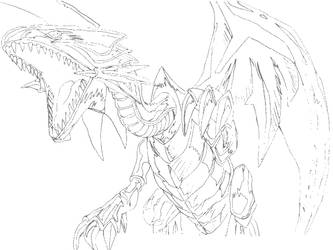 Blue Eyes White Dragon 2 by Disturbed-Minded