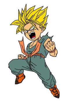 SSJ Kid Trunks Redone