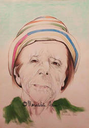 Maria Costa, sicilian poetess  by freesoul93