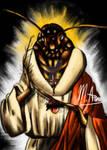Cockroach Jesus by freesoul93