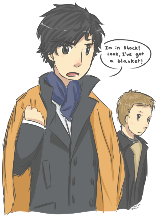 Sherlock Shock by darndragon