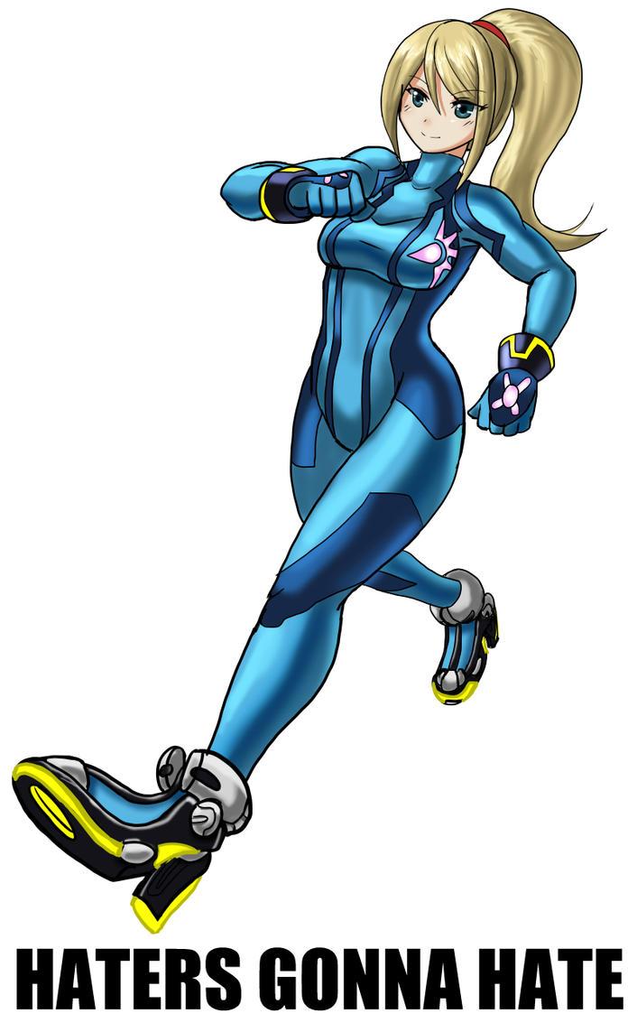 Zero Suit, Zero F*cks by veloxiraptor