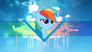 Rainbow Dash Cloudsdale Wallpaper