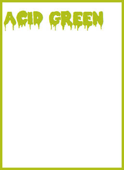 Acid Green Card