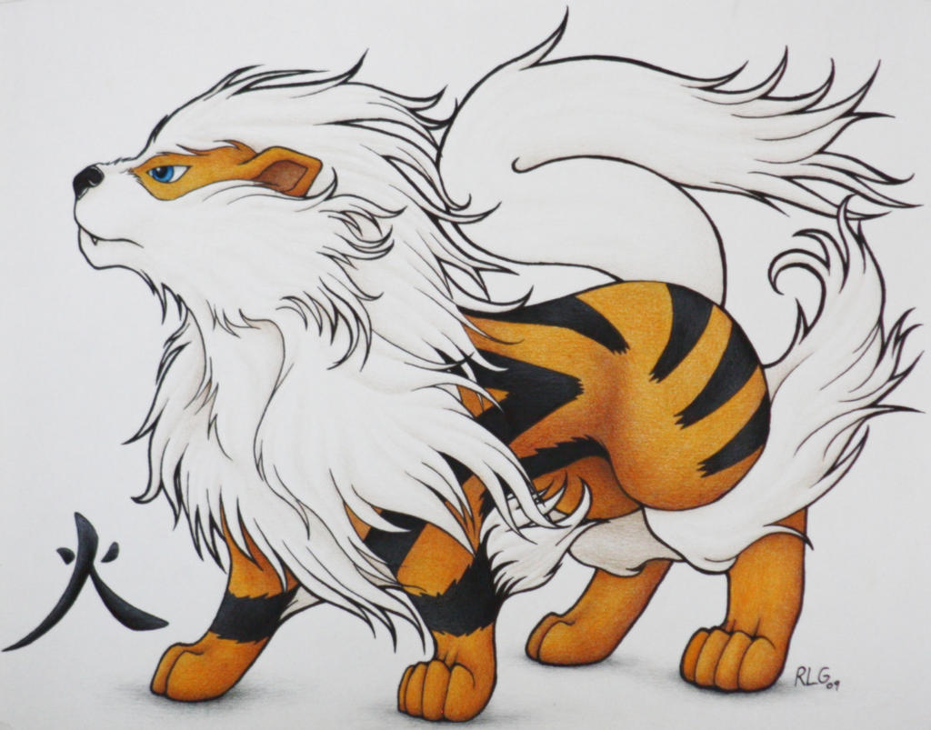 The gallery for --> Arcanine Evolution