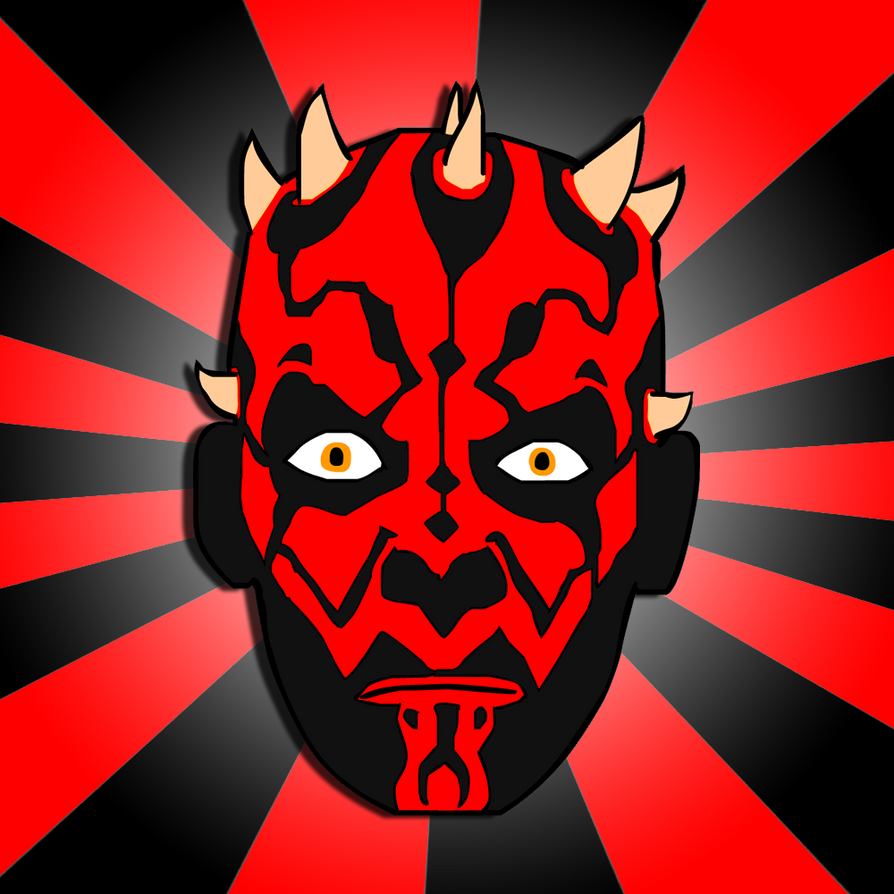 Darth Maul Face Trace by Jlaaag on DeviantArt