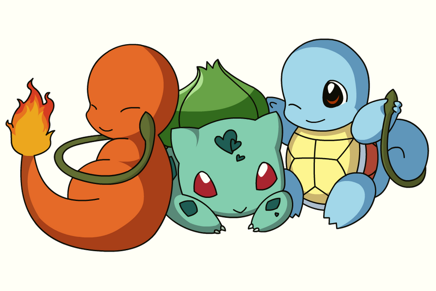Pkmn Pokemon Starters By Xeohelios On Deviantart
