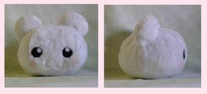 Snowbotamon Plushie by Xeohelios