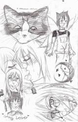 Loveless sketches by animangaboy